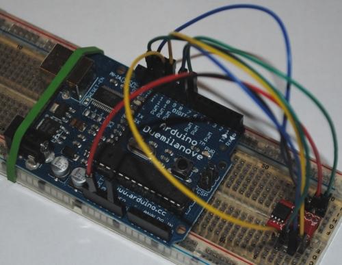 DataFlash and Arduino
